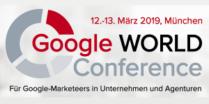 Google WORLD Conferece 2019 in München