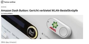 OLG München verbietet Amazon Dash in Deutschland