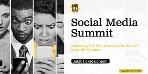 Like it! Social Media Summit 2019
