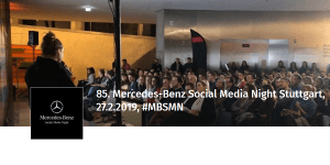 85. Mercedes-Benz Social Media Night