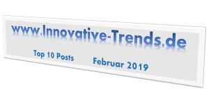 Top 10 Posts im Februar 2019