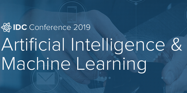 IDC AI & ML Conference 2019 am 4. Juli in Frankfurt #IDCAIML19 (Save-the-Date)