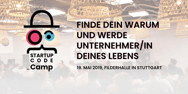 Startup Code Camp am 19. Mai 2019 in Leinfelden bei Stuttgart (Sonderkonditionen)
