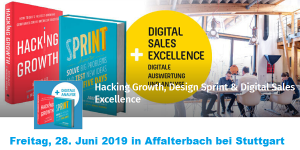 Growth Hacking meets Design Sprint und Digital Sales Excellence