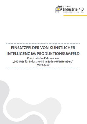 KI in der Produktion - kostenlose Fraunhofer-Kurzstudie zum KI-Einsatz in der Produktion
