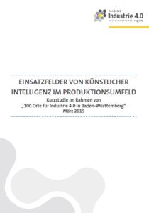KI in der Produktion - Kurzstudie des Fraunhofer IAO