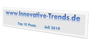 Top 10 Posts im Juli 2019