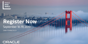 Oracle OpenWorld 2019 in San Fransisco