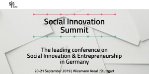 Social Innovation Summit 2019 Stuttgart