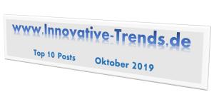 Top 10 Beiträge des Oktober 2019