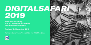 1. Digitalsafari 2019 Stuttgart