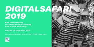 1. Digitalsafari 2019 Stuttgart