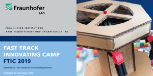 Fast Track Innovating Camp (FTIC 2019)
