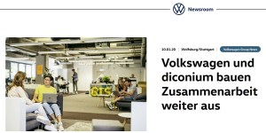 Volkswagen übernimmt diconium komplett
