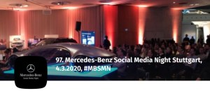 97. Mercedes-Benz Social Media Night (MBSMN)
