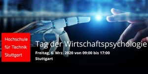 3. Tag der Wirtschaftspsychologie an der HFT Stuttgart
