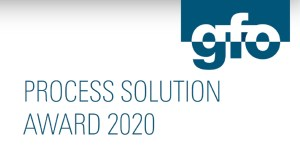 Process Solution Award 2020 der gfo