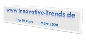 Top 10 Beiträge des März 2020