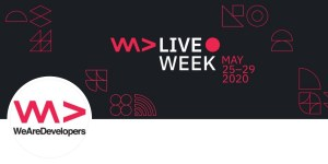 WeAreDevelopers Live Week 2020