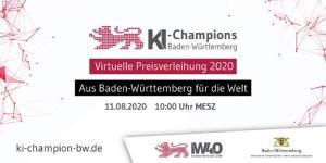 KI-Champions BW - virtuelle Preisverleihung