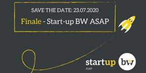 Virtuelles Finale von Start-up BW ASAP am 23. Juli