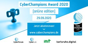 CyberChampions Award 2020