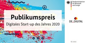 Digitales Start-up des Jahres 2020 - Publikumspreis