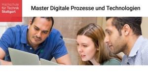 Neuer Master Digitale Prozesse und Technologien an der HFT Stuttgart