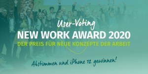 New Work Award 2020 User Voting