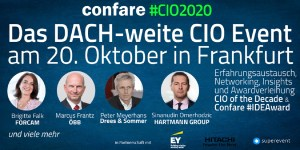 #CIO2020 in Frankfurt