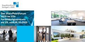 Stuttgarter SharePoint Forum 2020