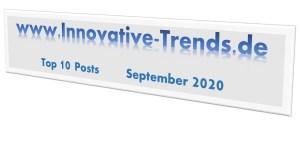 Top 10 Beiträge im September 2020
