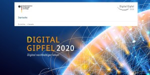 Digital-Gipfel 2020 Online