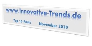 Top 10 Posts im November 2020
