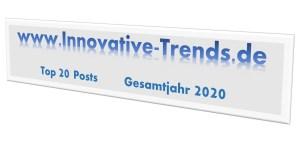 Top 20 Beiträge im Jahr 2020