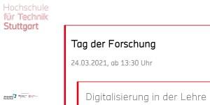 HFT Stuttgart - Tag der Forschung 2021: Digitalisierung in der Lehre