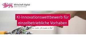 KI-Innovationswettbewerb - Neuer Aufruf