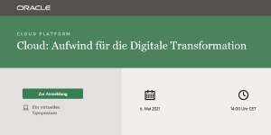 Online-Symposium - Cloud: Aufwind für die Digitale Transformation