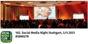 102. Social Media Night Stuttgart