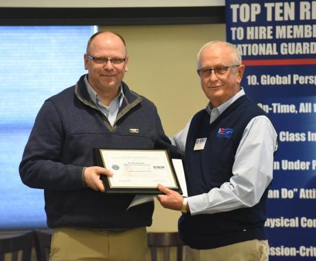 Employer Support of the Guard and Reserve (ESGR) Patriot Award