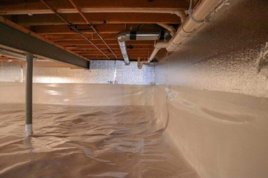 insulation and encapsulation installation