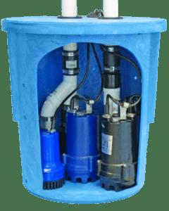 SafeDri UltriPro Triple Sump Pump System