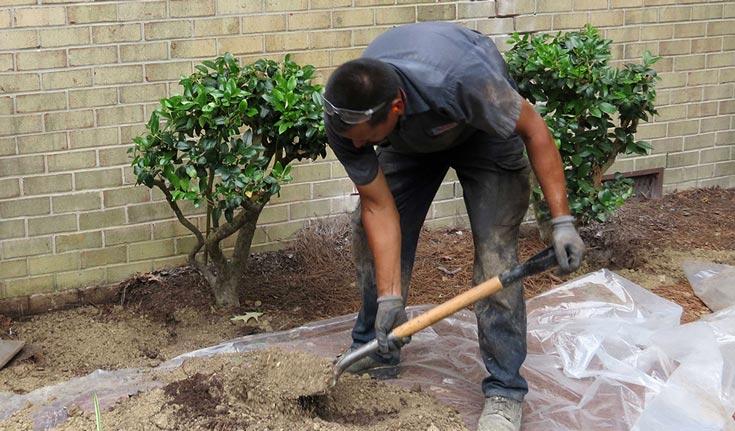 landscaping and grading vigilance