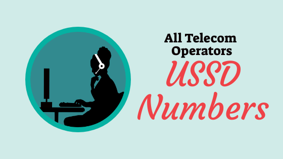 USSD Codes - All Network Operators