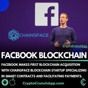 Facebook Makes First Blockchain Acquisition With Chainspace