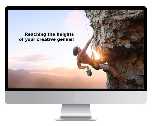 Computer Screen - Reching the Heights of your Creative Genuis