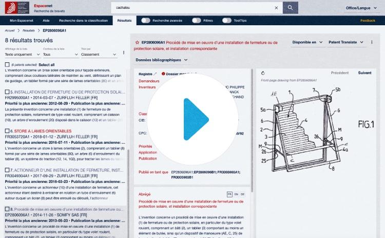 Comment rechercher un brevet par son numéro sur Espacenet