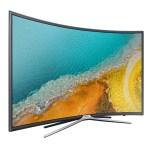 La télévision à écran incurvée permet une meilleure vision panoramique.