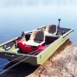 Le bateau Tetrapod est constitué de 2 parties détachables. Il est facilement transportable et se transforme en remorque + capot.