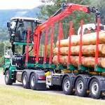 Le concept Reith permet de faire pivoter la cabine d'un camion pour mieux visualiser les manœuvres de la grue dans toutes les dirrections.